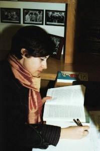 Vera in CBE library
